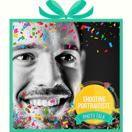 Box cadeau offrir shooting photoportraitiste portrait