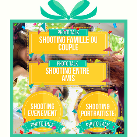 Offrir un shooting photo box cadeau