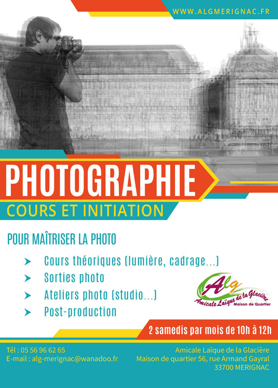 Cours photo la glaciere merignac