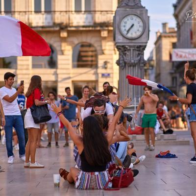 Place de la Comédie à Bordeaux