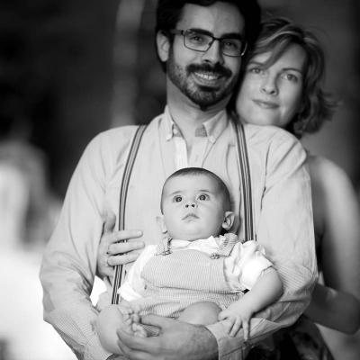 Photographe couple bordeaux avec enfant