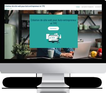 Création site internet Auto-entrepreneur, artisan, TPE pas cher